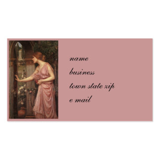 Psyche Entering Cupid's Garden Business Card
