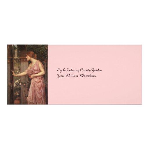 Psyche Entering Cupid's Garden Custom Rack Card