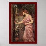 Psyche Entering Cupid's Garden Print