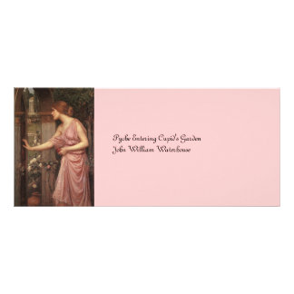 Psyche Entering Cupid's Garden Rack Card