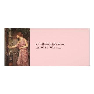 Psyche Entering Cupid's Garden Full Color Rack Card