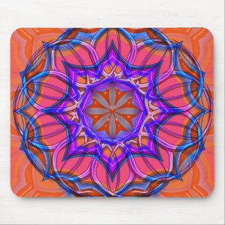 psyche flower mouse pad