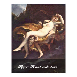 """Psyche Is Kidnapped By The Winds,  By Prud'Hon Pie 8.5"""" X 11"""" Flyer"""