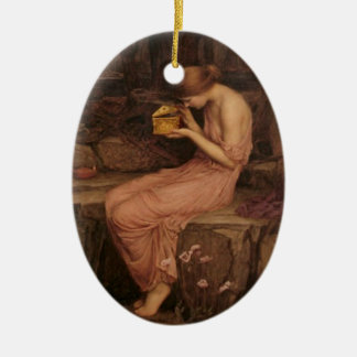 Psyche Opening The Golden Box - Ornament