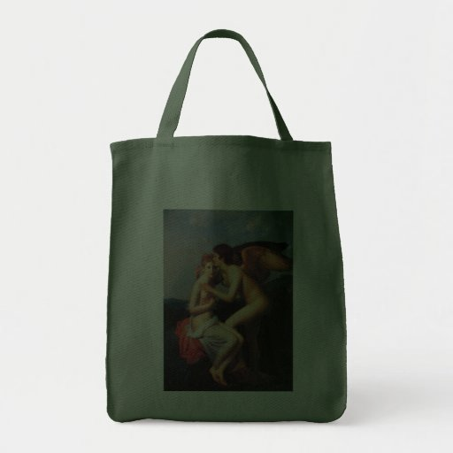 Psyche Receiving the First Kiss of Love Tote Bags