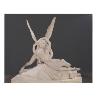 Psyche Revived by the Kiss of Cupid 1787-93 Panel Wall Art