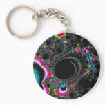 Psychedelace - Fractal Keychain