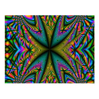 Psychedelia 1 postcard