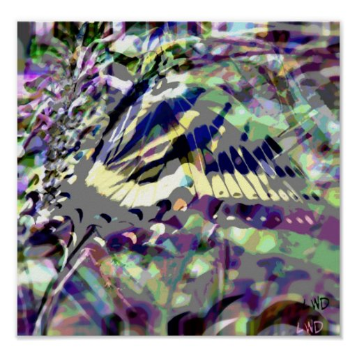 Psychedelia~Butterfly Posters