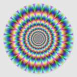 Psychedelia Classic Round Sticker