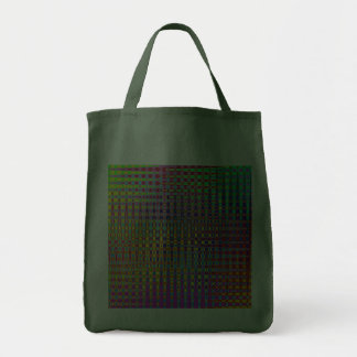 Psychedelia Grocery Tote Bag