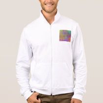 Psychedelia Men's California Fleece Zip Jogger Jacket