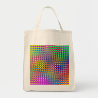 Psychedelia Organic Grocery Tote Bag