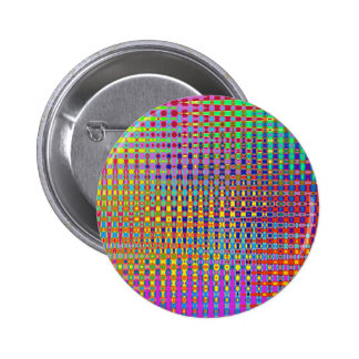 Psychedelia Round Button