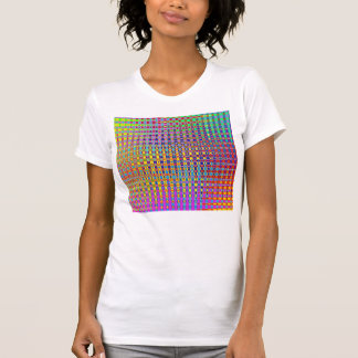 Psychedelia Women's Spaghetti Top Fitted T-Shirt