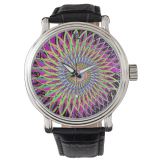 psychedelia wrist watch