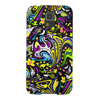 Psychedelic 60s Abstract Art Galaxy S5 Cases