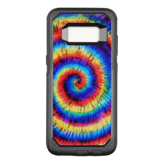 Psychedelic 60s Tie Dye OtterBox Commuter Samsung Galaxy S8 Case