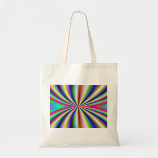 Psychedelic 70s tote bag