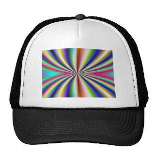 Psychedelic 70s trucker hat