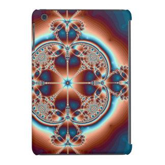 Psychedelic 7 Hearts iPad Mini Cover