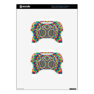 psychedelic #7 xbox 360 controller skins