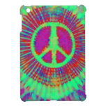 Psychedelic Abstract Art Peace Sign iPad Mini Case