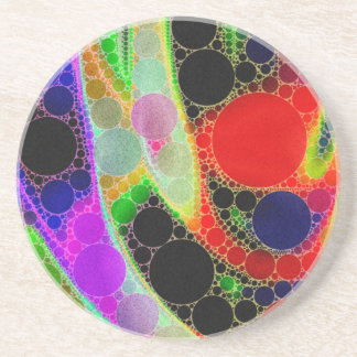 Psychedelic Abstract Coaster