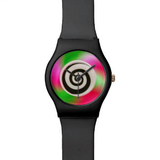 Psychedelic Abstract Colorful Hypnotic Watch