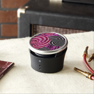 Psychedelic Abstract Lines Speaker