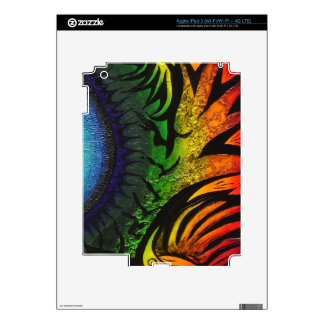 psychedelic abstract painting iPad 3 skin