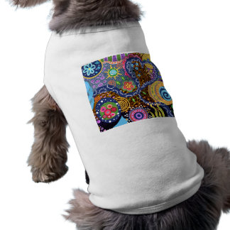 Psychedelic abstract pattern pet tshirt