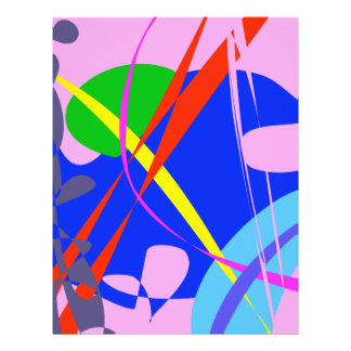 Psychedelic Abstract Pattern Full Color Flyer