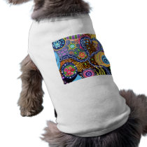 Psychedelic abstract pattern shirt