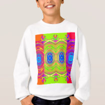 Psychedelic Abstract Pattern: Sweatshirt