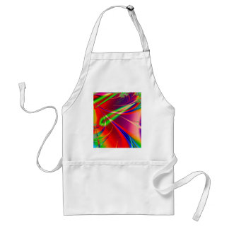 Psychedelic Abstract Shapes: Adult Apron