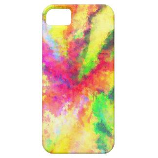 Psychedelic Abstract Watercolor Art iPhone 5 Case