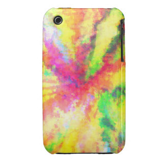 Psychedelic Abstract Watercolor Art Case-Mate iPhone 3 Cases