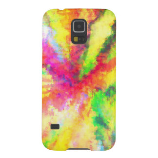 Psychedelic Abstract Watercolor Art Galaxy S5 Case