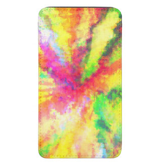 Psychedelic Abstract Watercolor Art Galaxy S5 Pouch