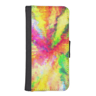 Psychedelic Abstract Watercolor Art iPhone 5 Wallet