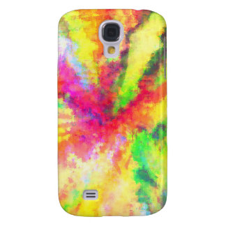 Psychedelic Abstract Watercolor Art Samsung S4 Case