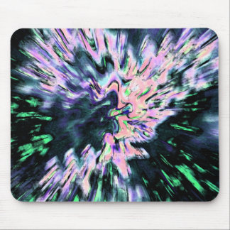 Psychedelic Abstraction Mousepad