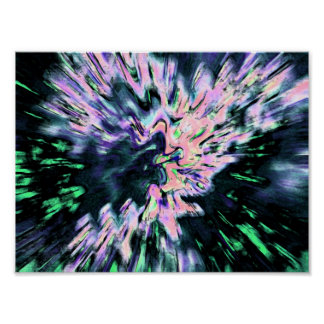 Psychedelic Abstraction Poster