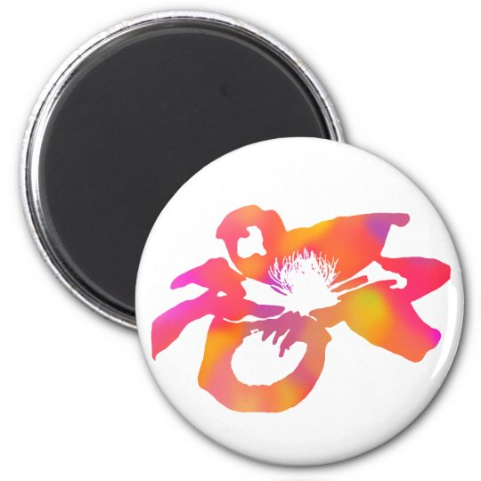 Psychedelic Anemone Magnet