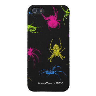 Psychedelic Arachnid iPhone case