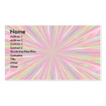 PSYCHEDELIC ART FUN BUSINESS CARD