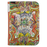 Psychedelic Art Kindle Caseable Case Kindle 3 Case