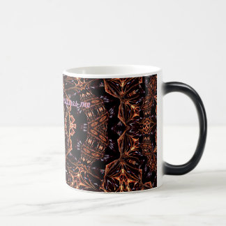 Psychedelic art mug Universe inpires me