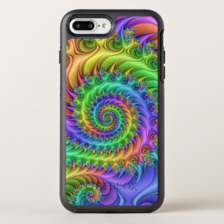 Psychedelic Art Pattern OtterBox Symmetry iPhone 8 Plus/7 Plus Case